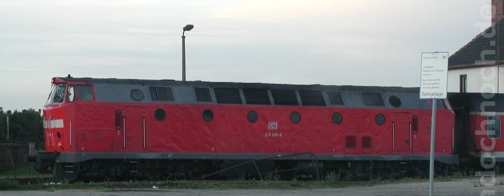 219 010-6 in Gorgast