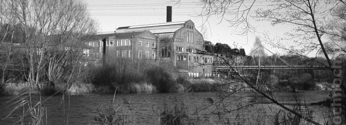 Kraftwerk am Finowkanal