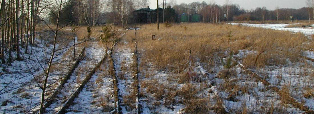 Bahnhof Finowfurt im Winter