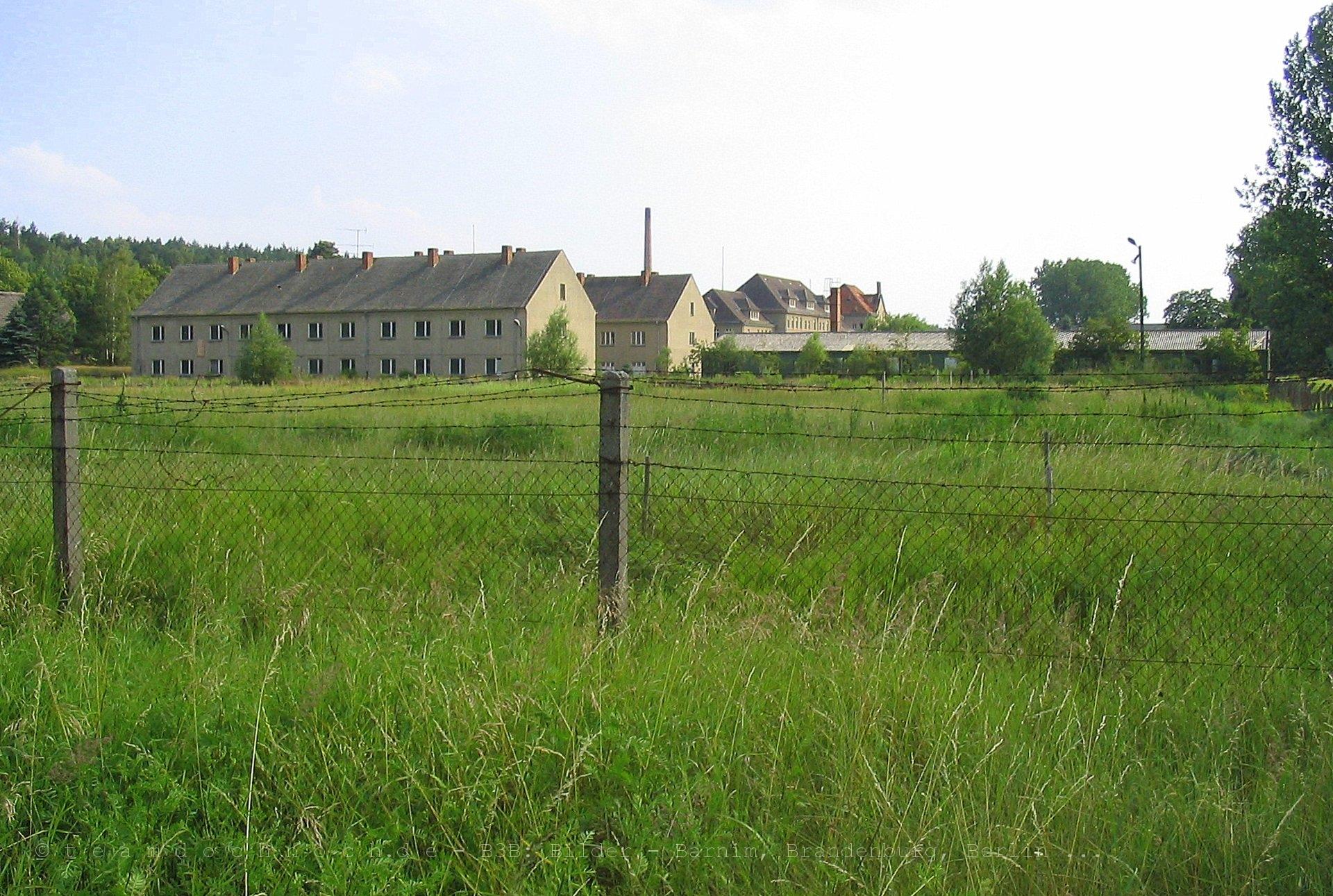 ehemalige NVA-Kaserne – Nachrichtenregiment 14