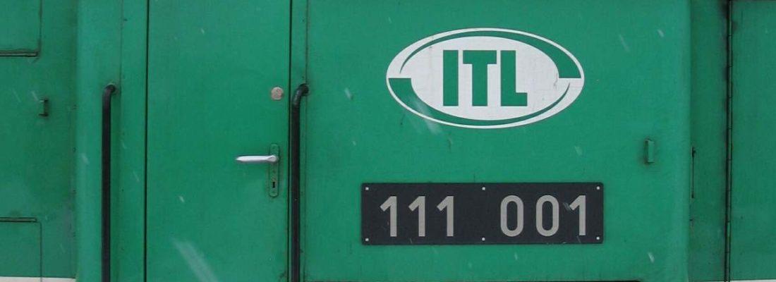 ITL 111 001 im Bahnhof Eberswalde