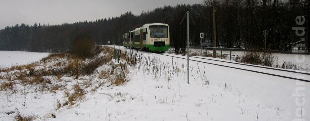 VT116 westlich von Eisfeld