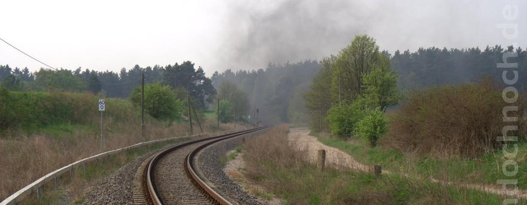 Es dampft in Althüttendorf