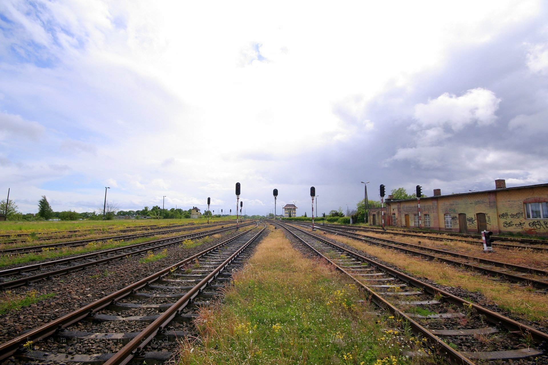 Ausfahrsignale in Chojnice