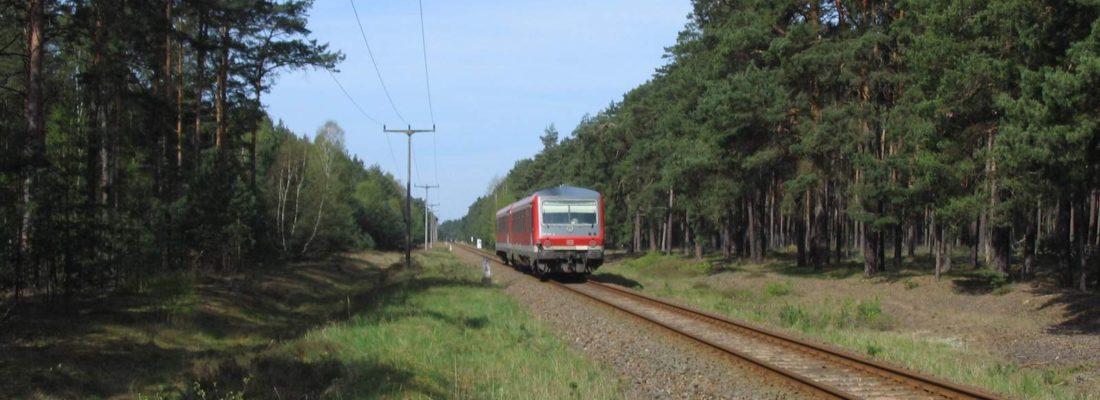 628 653-5 auf dem Weg nach Rheinsberg
