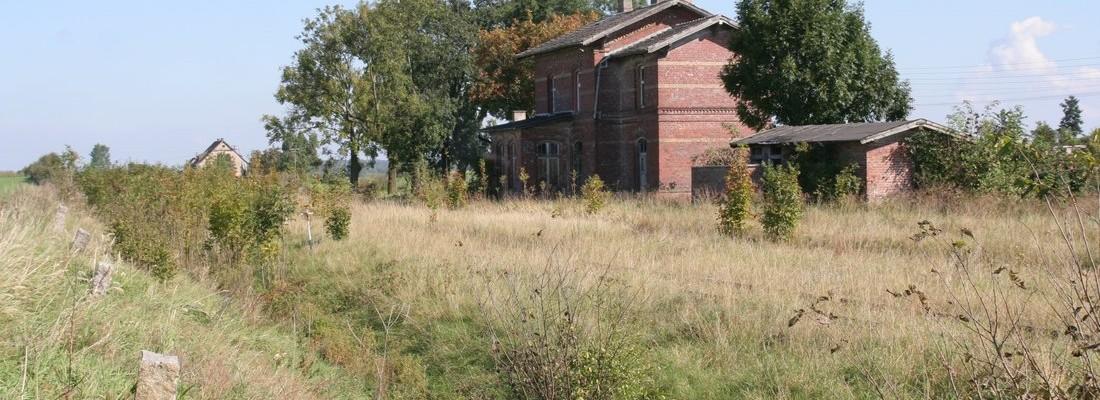 Der alte Bahnhof von Tetyń