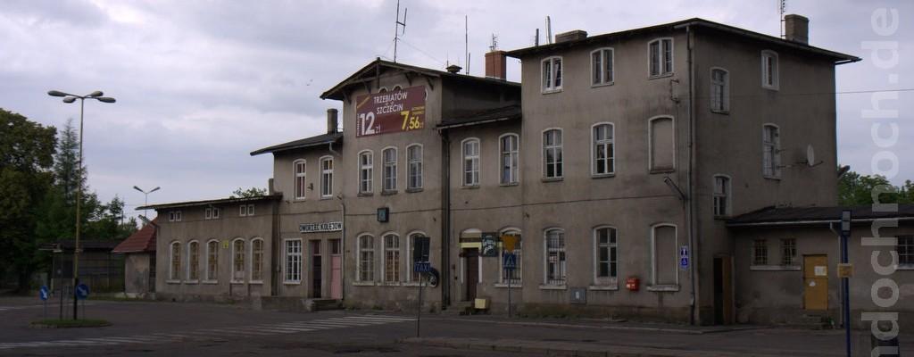 Bahnhof Trzebiatów