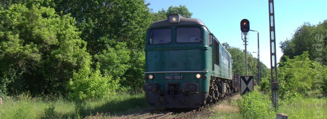 M62-1007 auf der Neißebrücke bei Guben