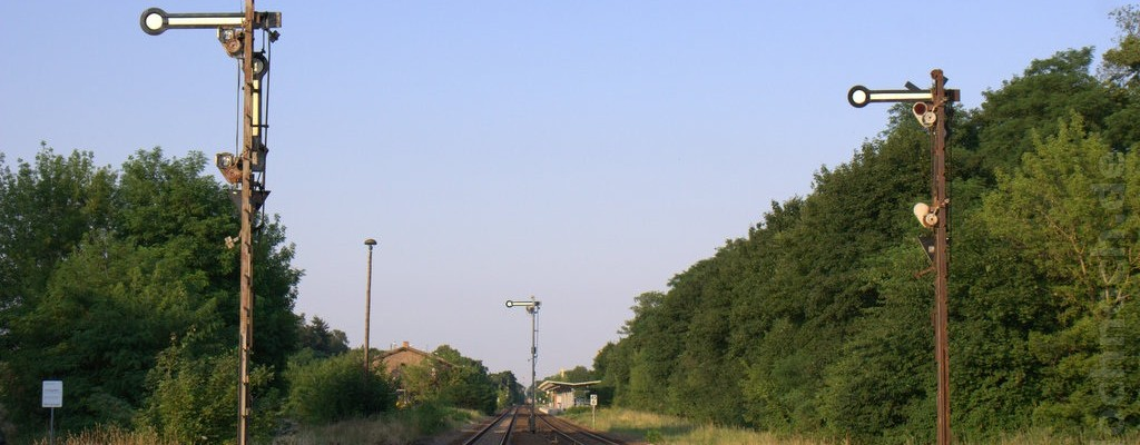 Formsignale in Müncheberg