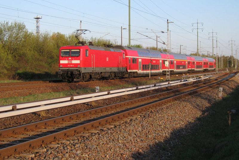 RE5 kurz vor Berlin