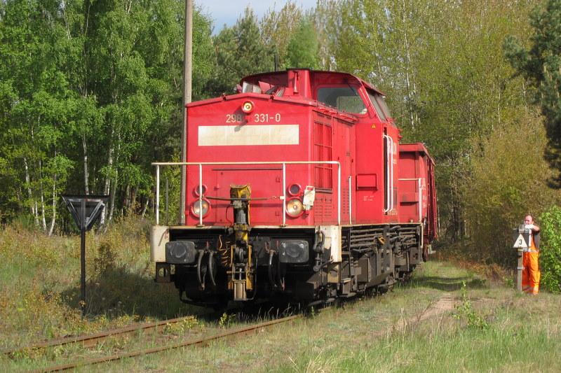 298 331-0 auf der Eberswalder Industriebahn