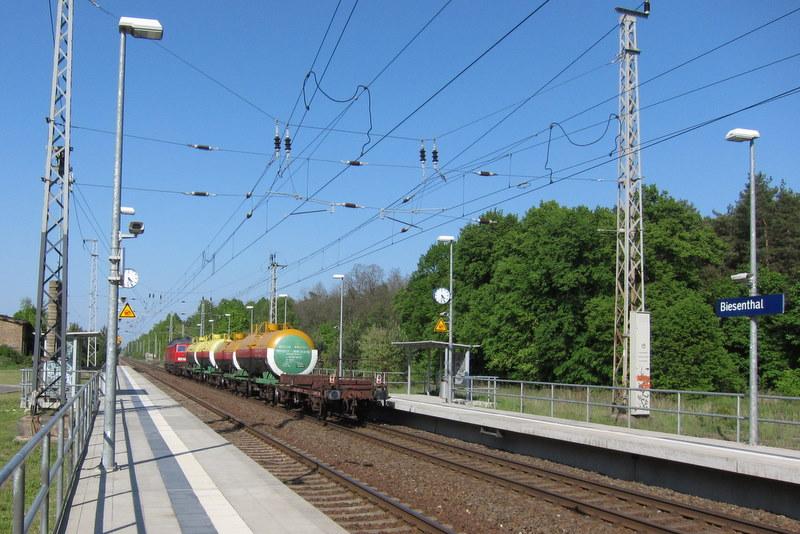Bahnbegegnungen im Barnim