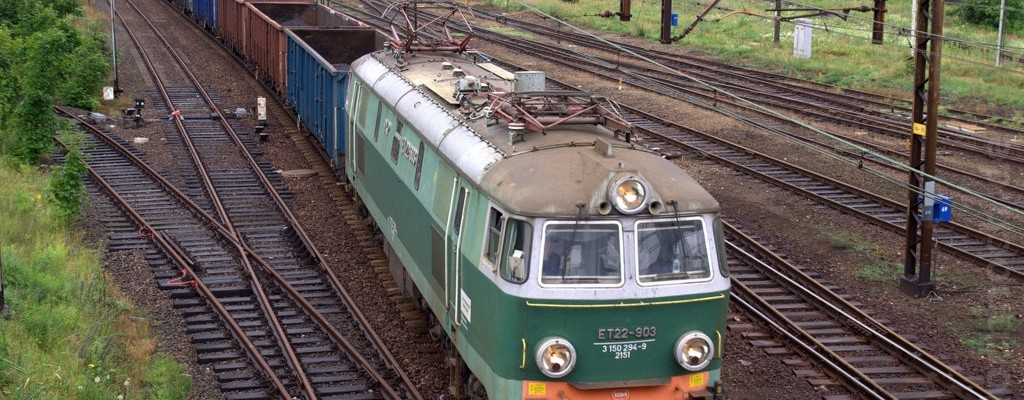 ET22-903 in Krzyż Wielkopolski
