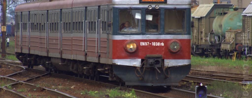 Triebwagen EN57 in Leszno