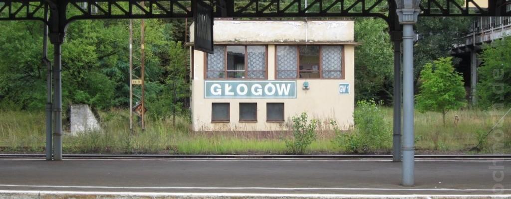 Bahnhof Głogów