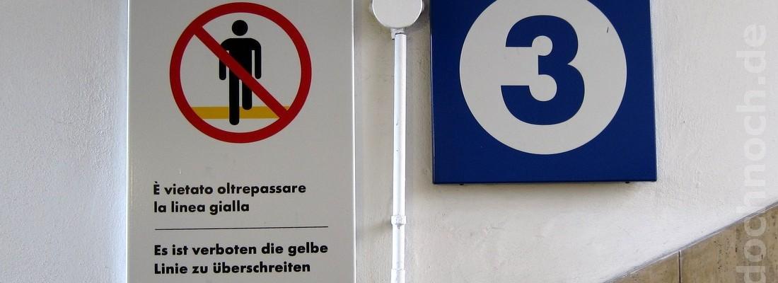 Es ist verboten …