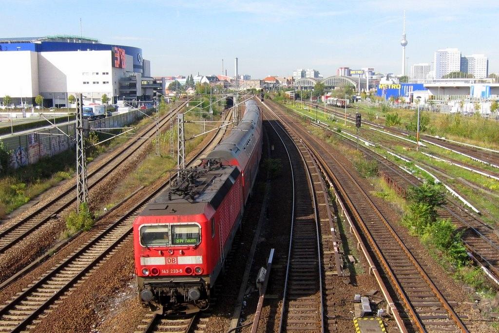 Gleise zum Ostbahnhof