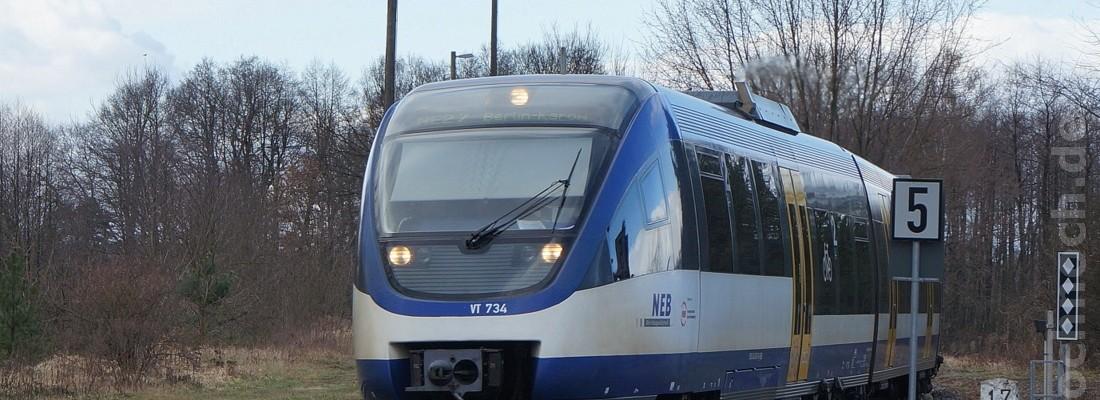 VT 734 der Niederbarnimer Eisenbahn