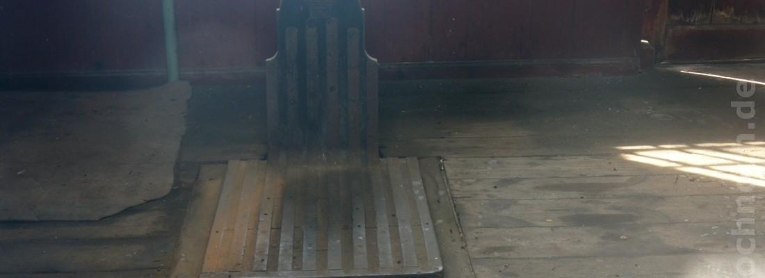Güterschuppen im Bahnhof Vogelsang