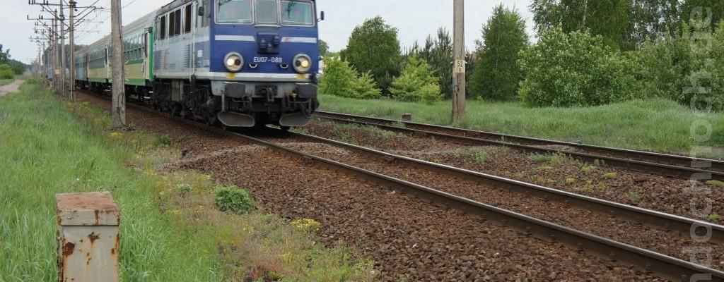 EU07-088 auf dem Weg nach Wronki