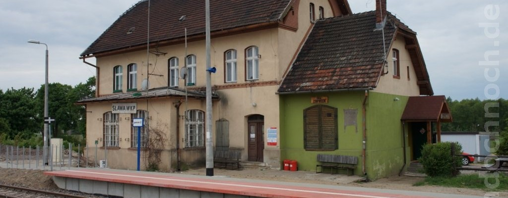 Bahnhof Sława Wielkopolska