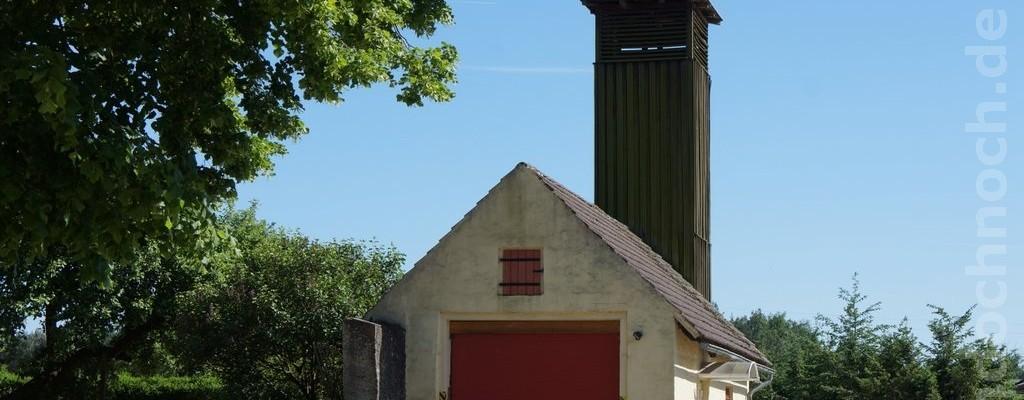 gefülltes Storchennest in Senftenhütte