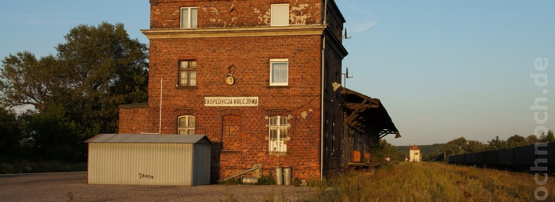 Güterschuppen in Krosno Odrzańskie