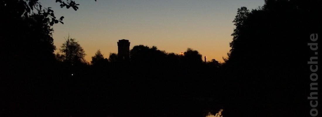 Der Finowkanal am frühen Morgen
