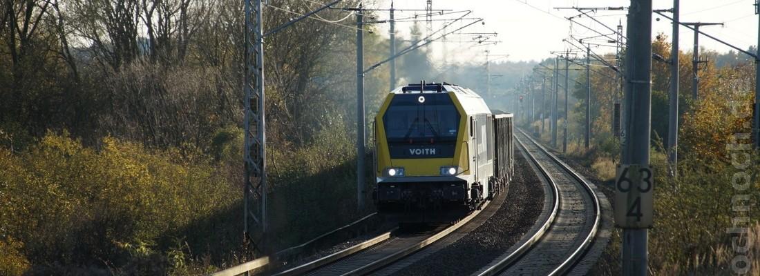 Voith Maxima der NBE Rail Polska in der Uckermark