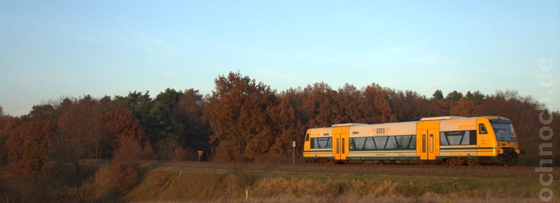 ODEG VT 650.68 bei Golzow