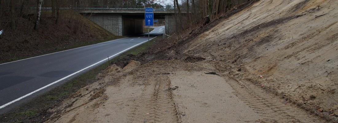 Radwegebau Altenhof-Buckow