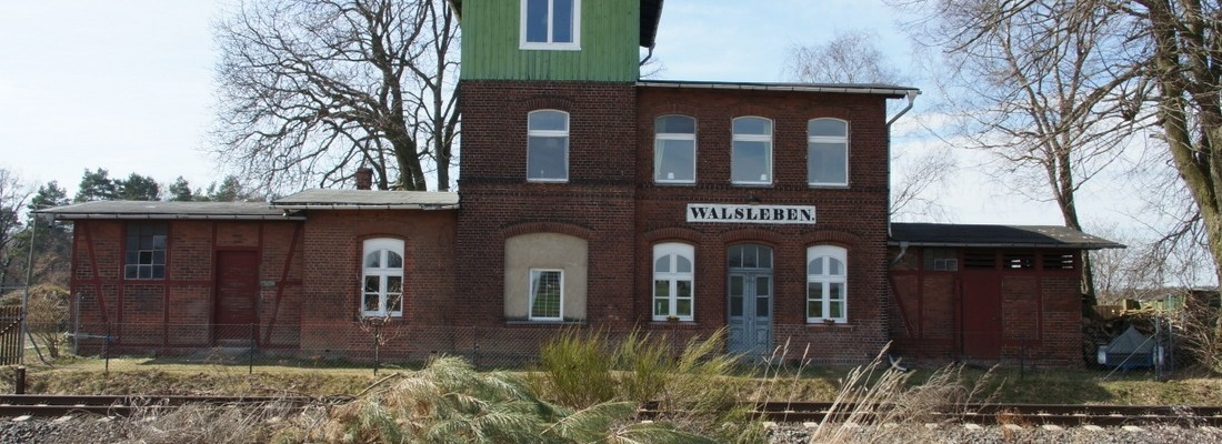 Bahnhof Walsleben