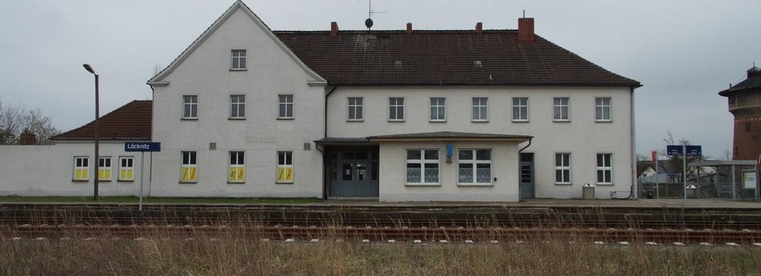 Bahnhof Löcknitz