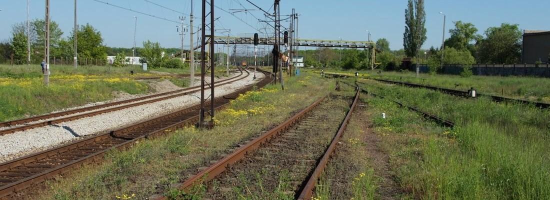 Eindrücke vom Nordbereich des Bhf. Kostrzyn