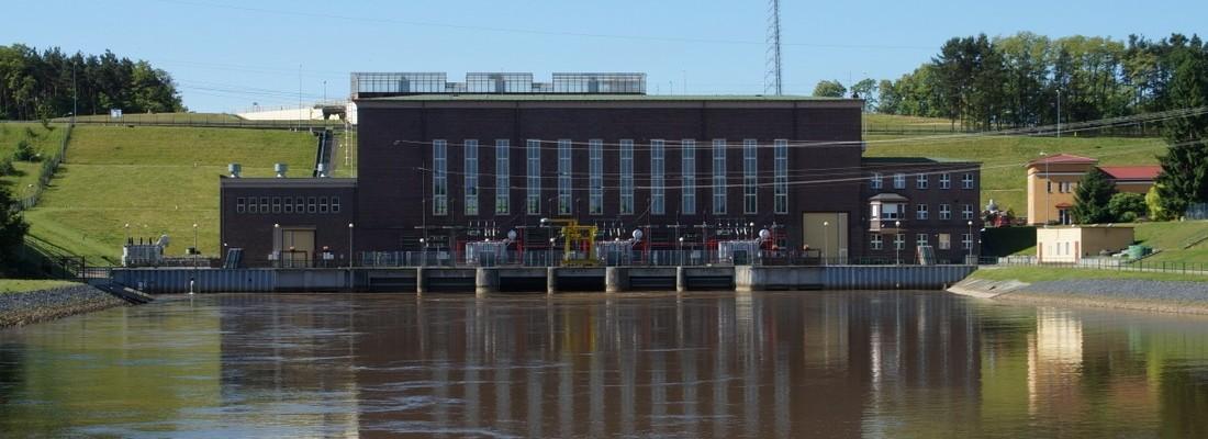 Wasserkraftwerk Dychów