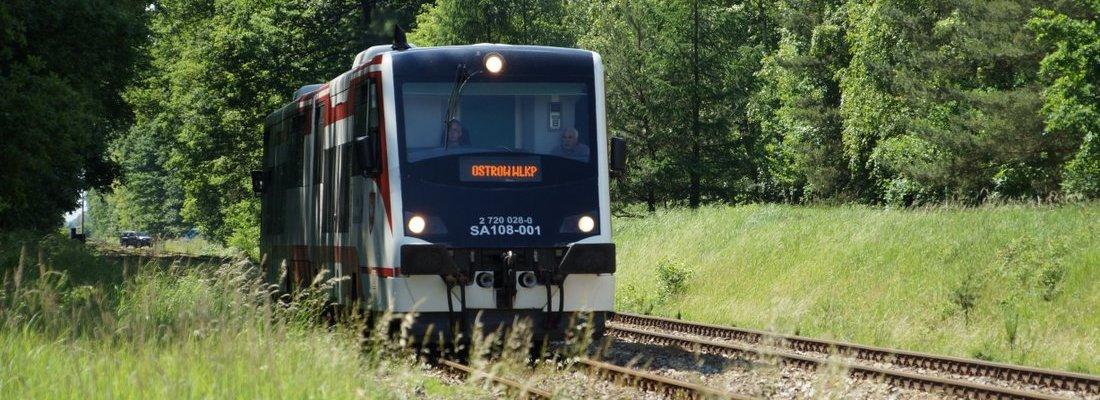 SA108-001 auf dem Weg nach Ostrów Wielkopolski