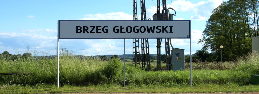 Bahnhof Brzeg Głogowski