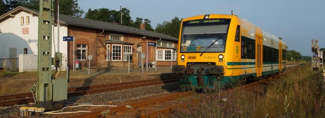 VT 650.74 in Niederfinow