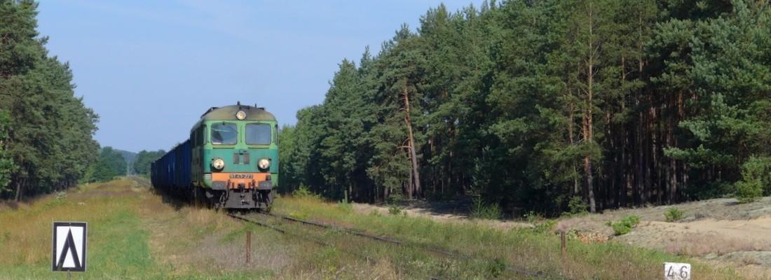 ST43 227 kurz vor Czerwieńsk