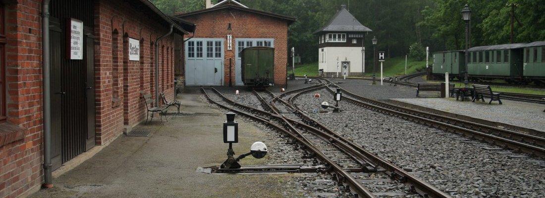 Eindrücke vom Bahnhof Bertsdorf