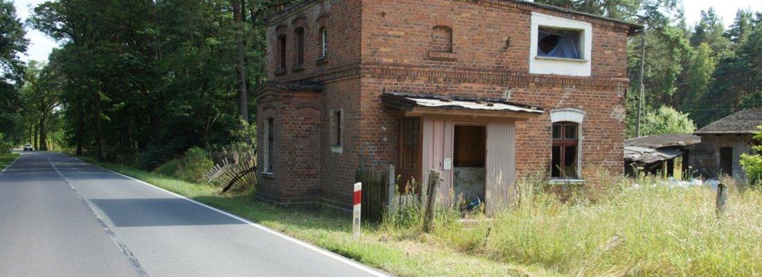 Chausseehaus südlich von Rzepin
