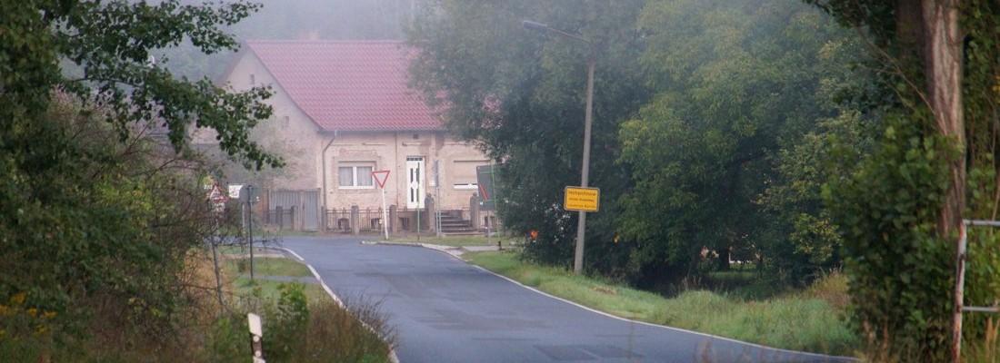 Ortseingang Struwenberg/Hohenfinow