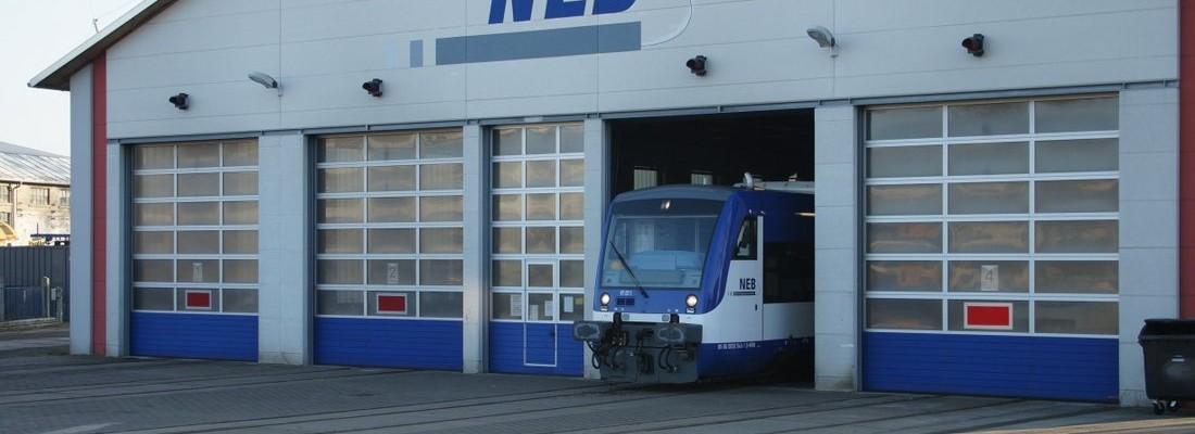 VT 011 der NEB in Basdorf