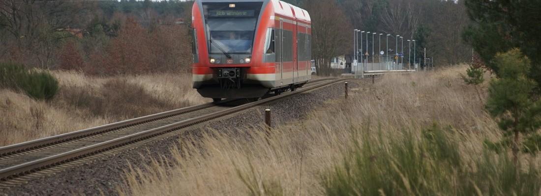 GTW 2/6 der DB AG in Fretzdorf