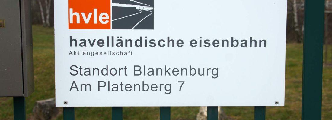 Bei der HVLE in Blankenburg/Harz über den Zaun geschaut
