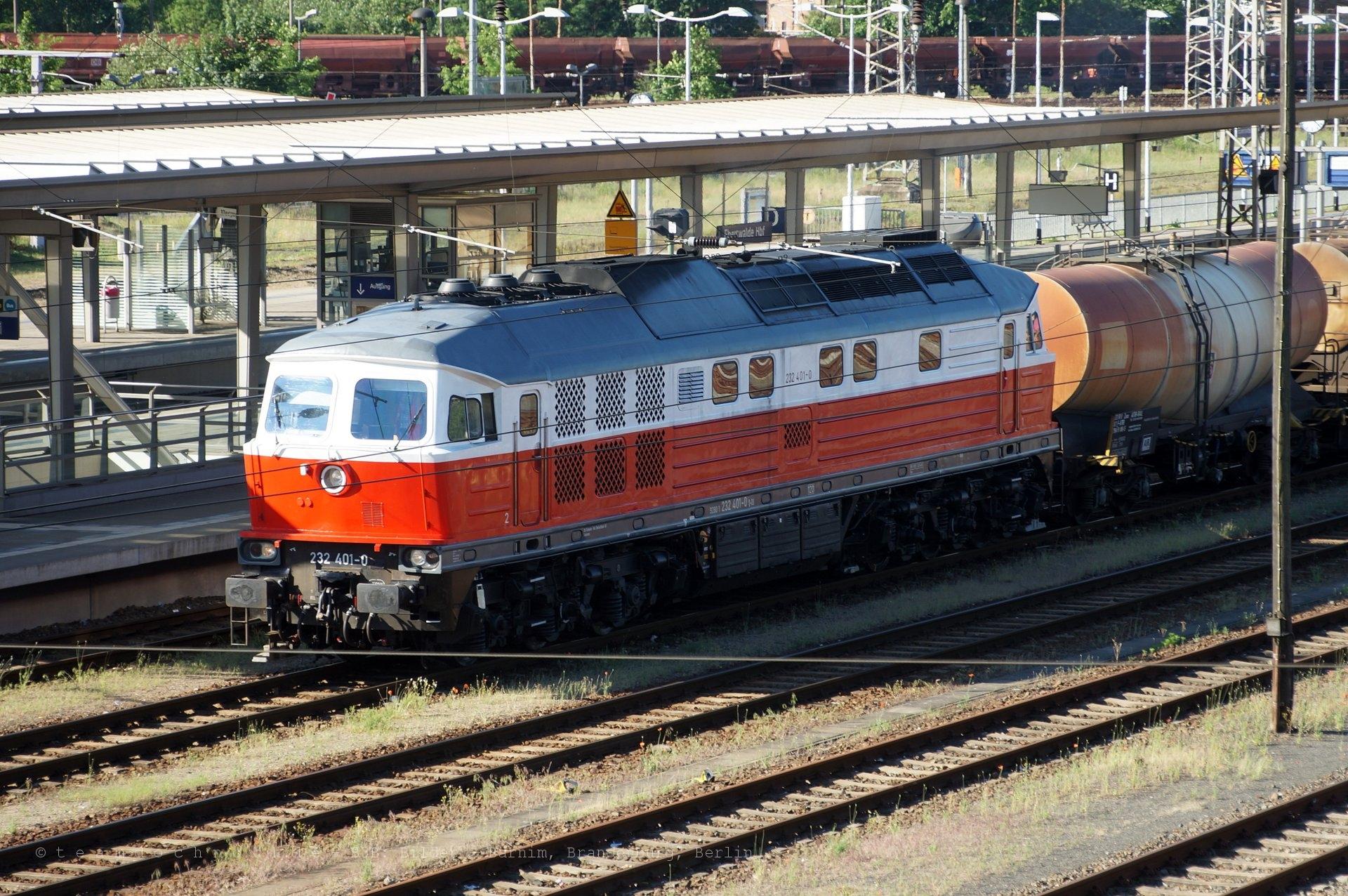 232 401-0 in Eberswalde
