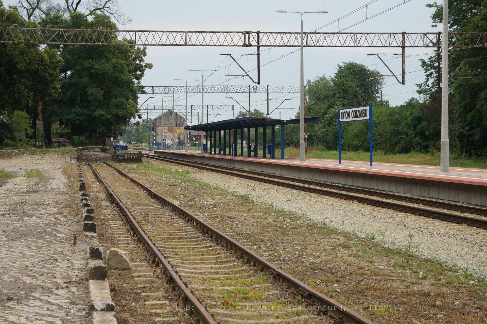 Bahnhof Bytom Odrzański