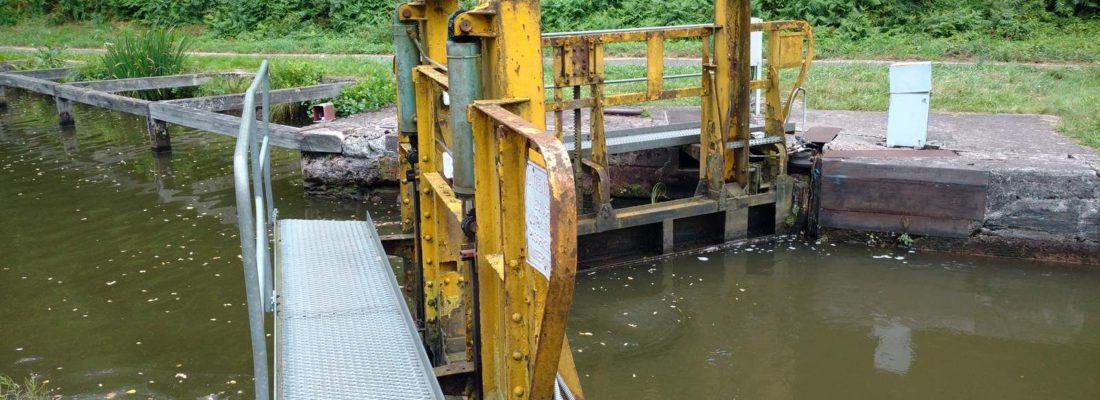 Schleuse Nr. 9 am Canal de la Marne au Rhin