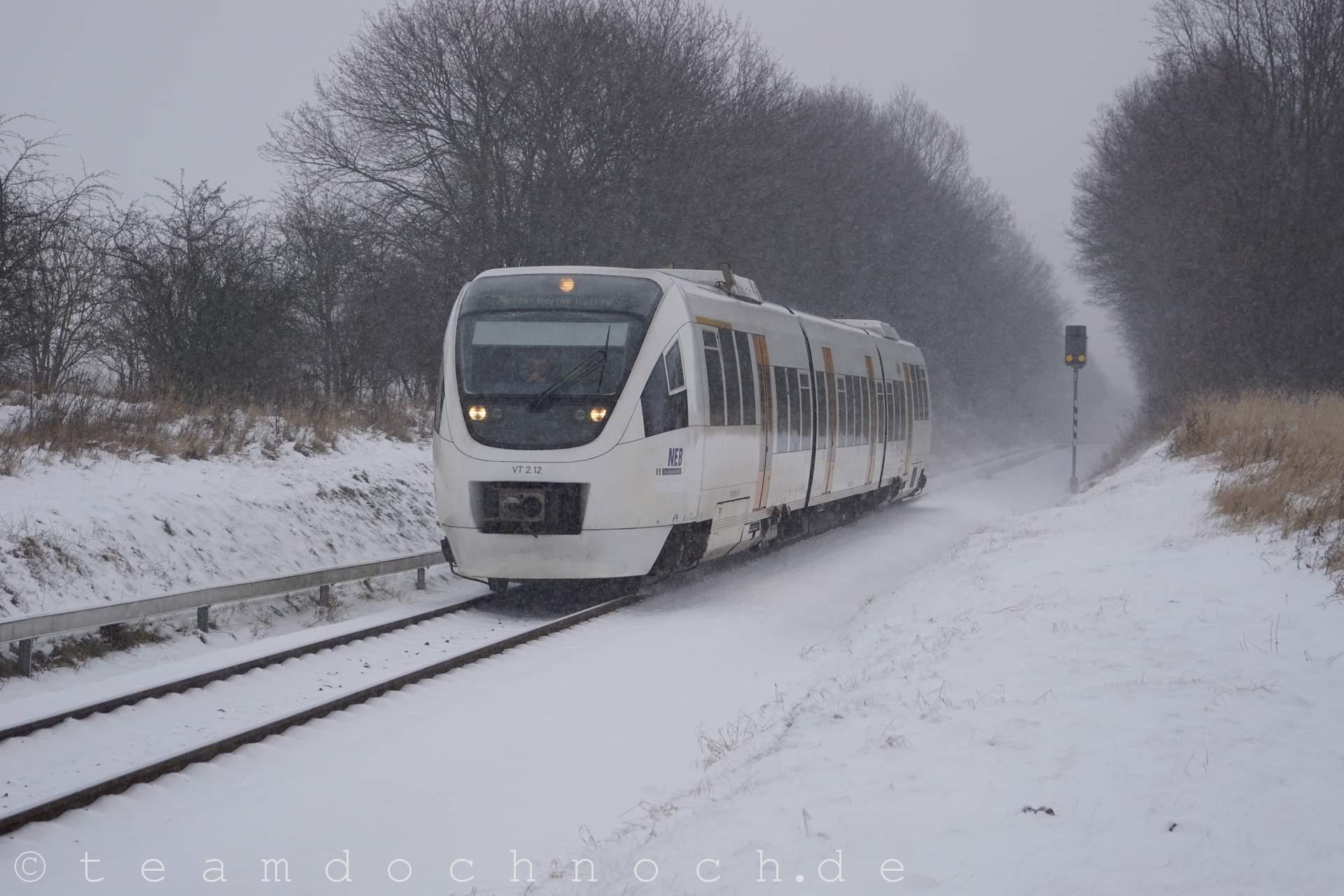 VT 2.12 der NEB östlich von Blumberg