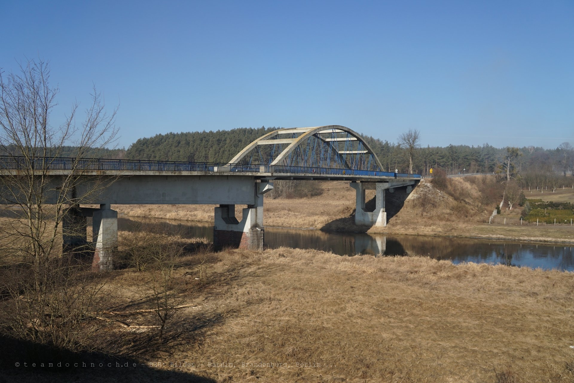 Brücke über den Noteć bei Stare Bielice (województwo lubuskie)